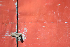 Metal Doors Stock Photo