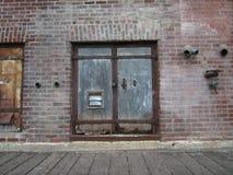 Metal Doors Royalty Free Stock Photos