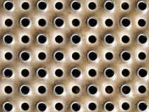 Metal dot texture Stock Image