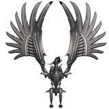 Metal Dragon Royalty Free Stock Photos