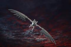 Metal Dragon Stock Photo