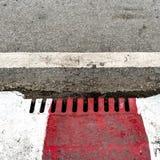 Metal drain cover Stock Photo