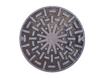 Free Metal Drain Lid On Isolated Background Stock Photos - 62147943