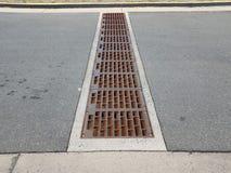 Free Metal Drain Or Grate On Asphalt Road Or Street Stock Image - 139039531