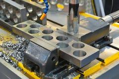 Metal drill Stock Image