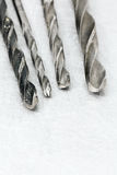 Metal drill bits Stock Photography