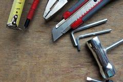 Metal drill bits Royalty Free Stock Photo