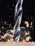 Metal drill chuck Stock Photography