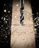 Metal drill chuck Stock Image