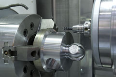 Metal drilling Stock Images