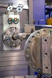 Metal drilling Stock Image