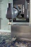 Metal drilling Royalty Free Stock Photos