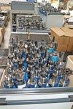 Metal drills set. Set of complex metal drills royalty free stock images