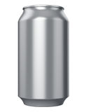 Metal drink can Stock Images