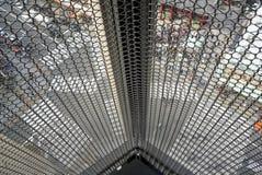 Metal drucianej siatki ściana Obrazy Royalty Free