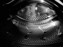 The metal drum of a machine as bought in a spaceship stock photography