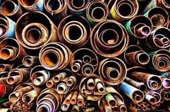 metal drymby Fotografia Stock