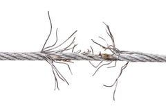 metal drzejący drut Obrazy Royalty Free