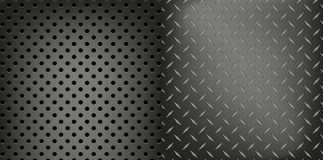Metal dynamic pattern background Royalty Free Stock Images