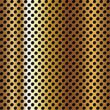 metal dziurkująca powierzchnia ilustracja wektor