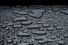 Metal e água Fotografia de Stock