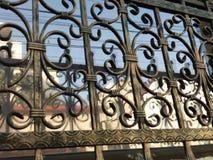 Metal e vidro Fotos de Stock