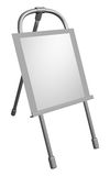 Metal easel Royalty Free Stock Image