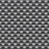 Metal el modelo inconsútil con los agujeros redondos, trama imagenes de archivo
