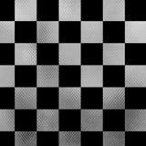 Metal el tablero de ajedrez Fotografía de archivo libre de regalías