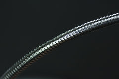 Metal elastic rod Stock Images