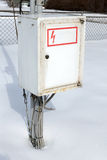 Metal electric box Stock Photography