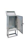 Metal electric control box Royalty Free Stock Image