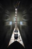 Metal electric guitar Stock Photography