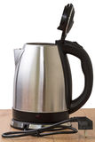 Metal electric kettle royalty free stock image