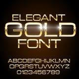 Metal Elegant Font Royalty Free Stock Photos
