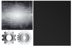 Metal elements Royalty Free Stock Photos