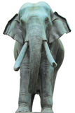 Metal elephant statue Stock Photos