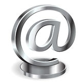 Metal email Stock Images