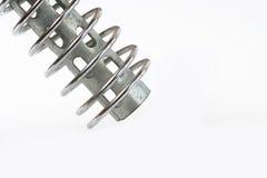 Metal en espiral Imagenes de archivo
