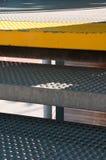 Metal escadas Imagem de Stock Royalty Free