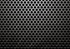 Metal escuro escovado Fotos de Stock