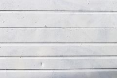Metal panel exterior white with texture royalty free stock images