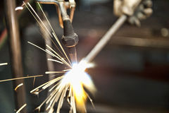 Metal Fabrication Royalty Free Stock Images