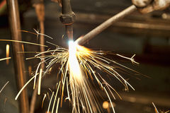 Metal Fabrication Royalty Free Stock Photos