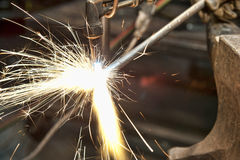 Metal Fabrication Royalty Free Stock Image