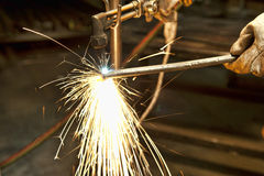 Metal fabricator Stock Image