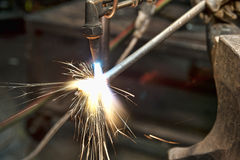 Metal fabricator Royalty Free Stock Images