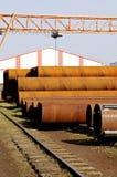 metal fabryczne drymby Obraz Stock