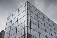 Metal facade protection Stock Photo
