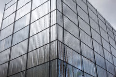 Metal facade protection Royalty Free Stock Photos